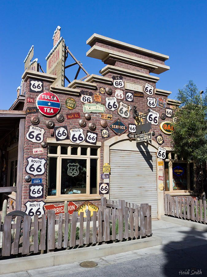 route 66..drove this many times with my family in the 60's