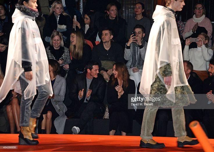 Luke Evans and Stella McCartney attend the Hunter Original AW15... ニュース写真   Getty Images