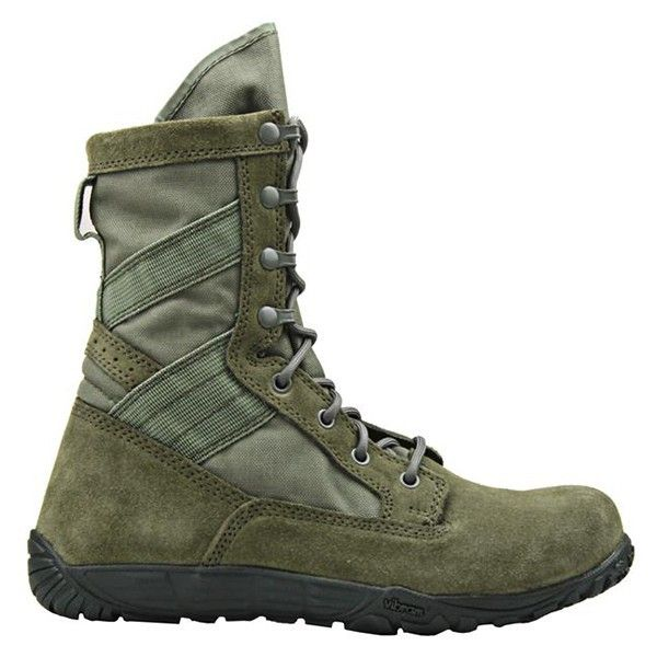 Tactical Research Minimil Air Force Sage Green Boots   TR103