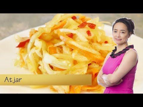 Zelf thuis Atjar maken - YouTube