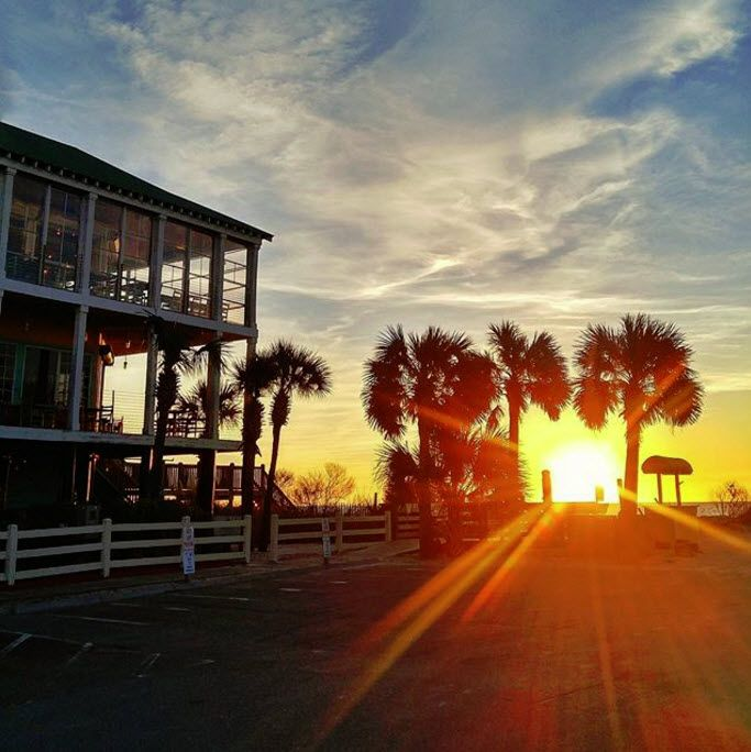 Greetings from Surfside Beach, South Carolina! |  Photo via Instagram by @verosangue