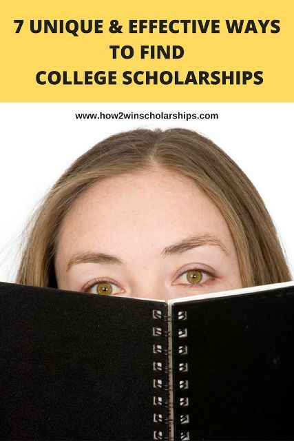Think you have no time to search for and win money for school? Think again! Here are 7 unique and effective ways ways to find college scholarships.