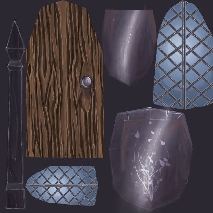 Props: The Pixie Inn : Hand Painted Metal (Sheet 2)