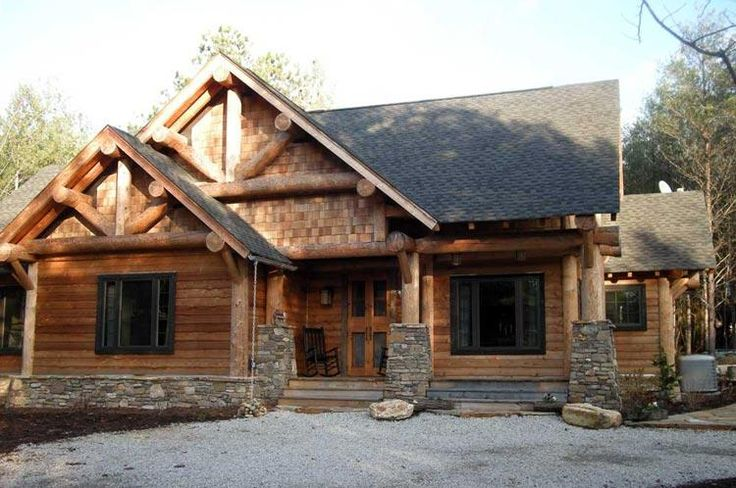 25 best ideas about log cabin exterior on pinterest log cabin plans log cabin house plans - Summer house plans delight relaxation ...