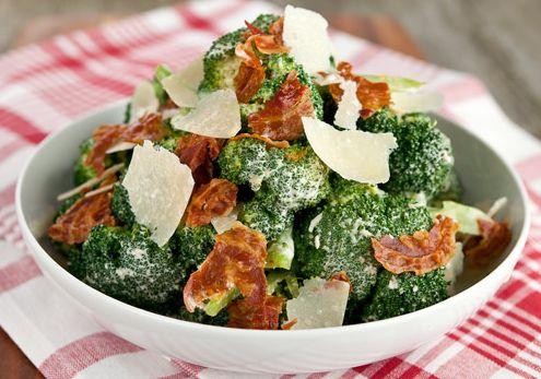 Oven Lovers: Broccoli Caesar Salad