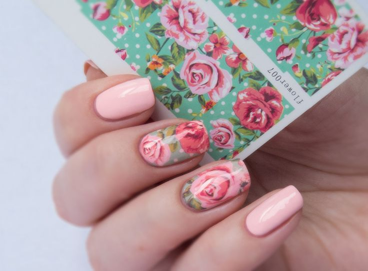 Flowers Nail Design With Stickers - 16 Best My Nail Design Images On Pinterest Nails Design