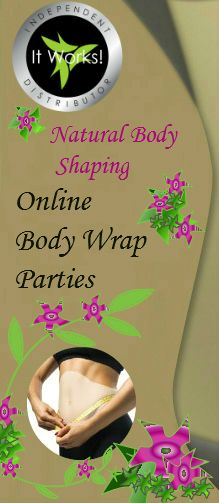ItWorks Body Wraps and Ultimate Applicators Body Wrap Party Online
