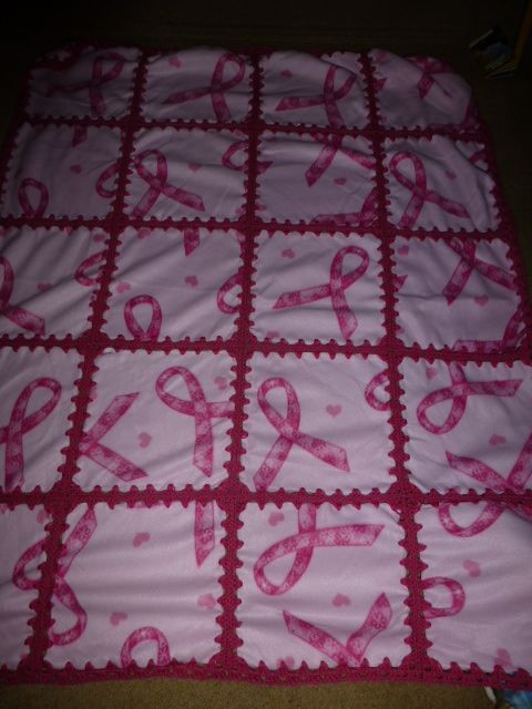 22 best Ribbon quilt ideas images on Pinterest | Blankets, Breast ... : cancer quilts for sale - Adamdwight.com