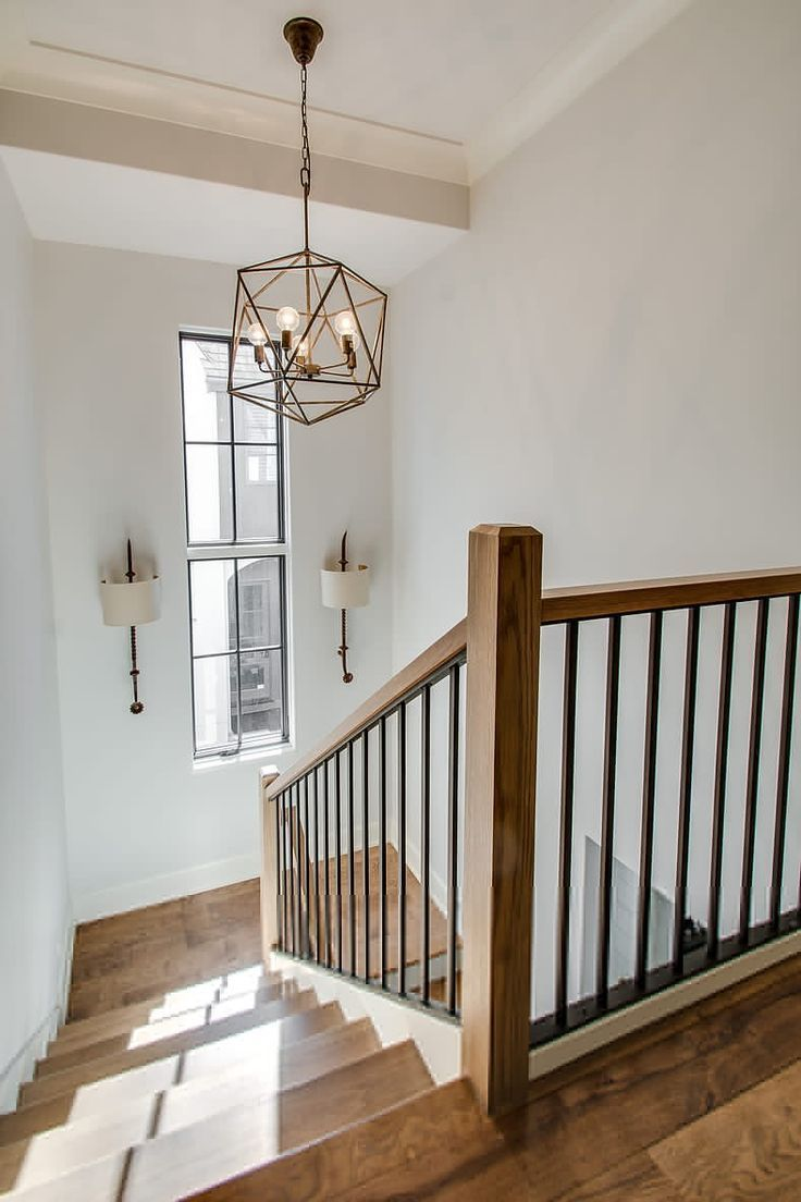 Pictures In Hallway House Staircase Interior Stair Railing Wood Staircase