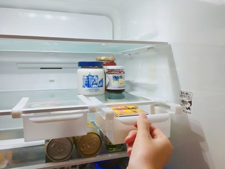 その手があったか 置くだけで冷蔵庫がすっきりする収納グッズが超便利 冷蔵庫 収納 セリア グッズ 収納 押入れ 収納 100均