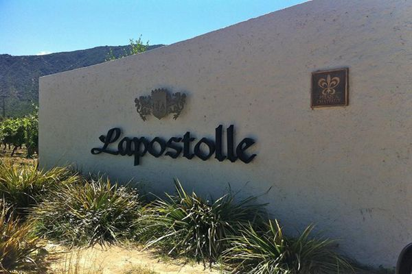 Lapostolle entrance, #Colchagua