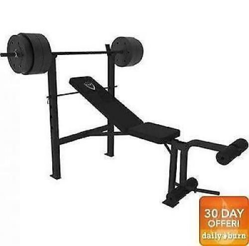 Weight Bench Set With Weights Home Gym Olympic Press Lifting Barbell Exercise in Sporting Goods, Fitness, Running & Yoga, Strength Training | eBay