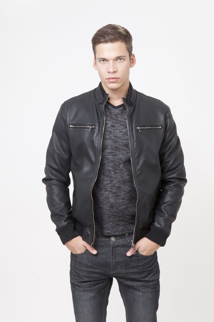 New Collection 2015-16 #saxoolondon #menswear #leatherjacket ** Check it on the webshop -> http://bit.ly/1Liipx8