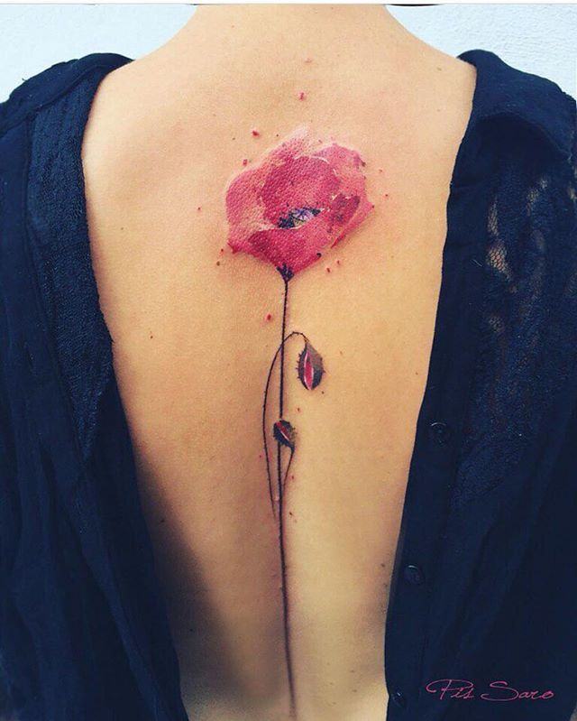 Beautiful Tattoo By @pissaro_tattoo  _ @artshelp