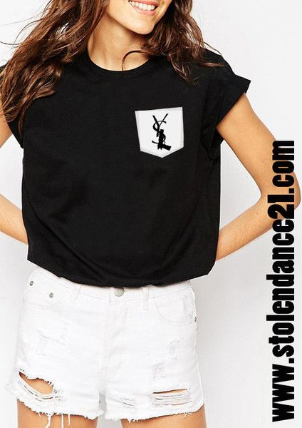 Pistol Real Pocket Tee Crew Neck Top T shirt code50694