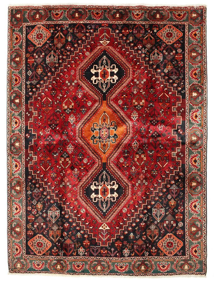 Qashai Carpet Rug 222 166 From Persia Iran