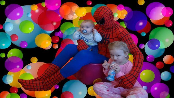 BED BABY vs SPIDER-MAN Вредные Детки против Человека-Паука мультик видео для детей человек-паук