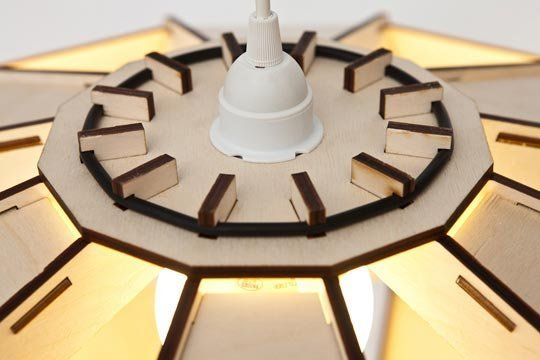 Space Age Meets Flat Pack: Miles Keller's Satellite-Inspired Pendant