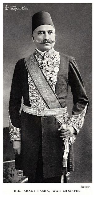 H.E. Mohamed Abani Pasha, War Minister (1895-1908) In Formal Military Dress - Cairo In 1906.