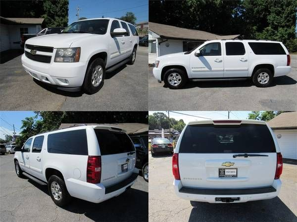 2007 Chevrolet Suburban  4DR SUBURBAN: 2WD 1500 LT Passenger Airbag Du (Cumming GA) $11880