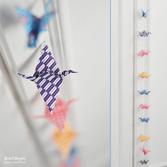 17 meilleures id es propos de grues en origami sur pinterest grues en papier mobiles d. Black Bedroom Furniture Sets. Home Design Ideas