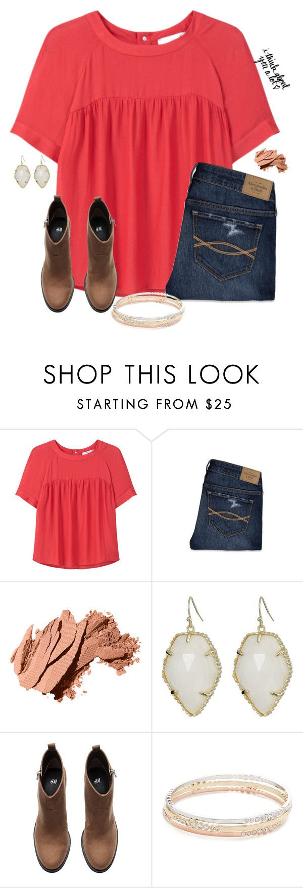"""When you hear Taylor and Calvin are talking again"" by christyaphan ❤ liked on Polyvore featuring MANGO, Abercrombie & Fitch, Bobbi Brown Cosmetics, Kendra Scott, H&M and Kate Spade"