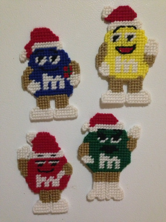 Festive Holiday Fridge Magnets/Ornaments by ...