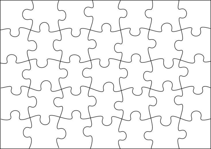 Puzzle Schablone Vorlagen Puzzle Vorschulkinder Und