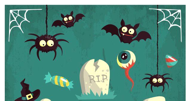 http://www.pixeden.com/conceptual-vectors/halloween-vector-art-pack-vol2