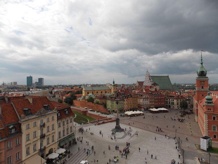 town square - Warsaw, Poland