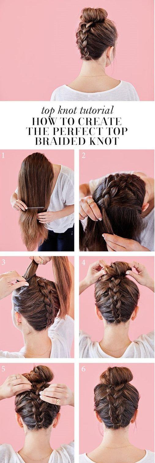 high updo meets dutch braids #ad