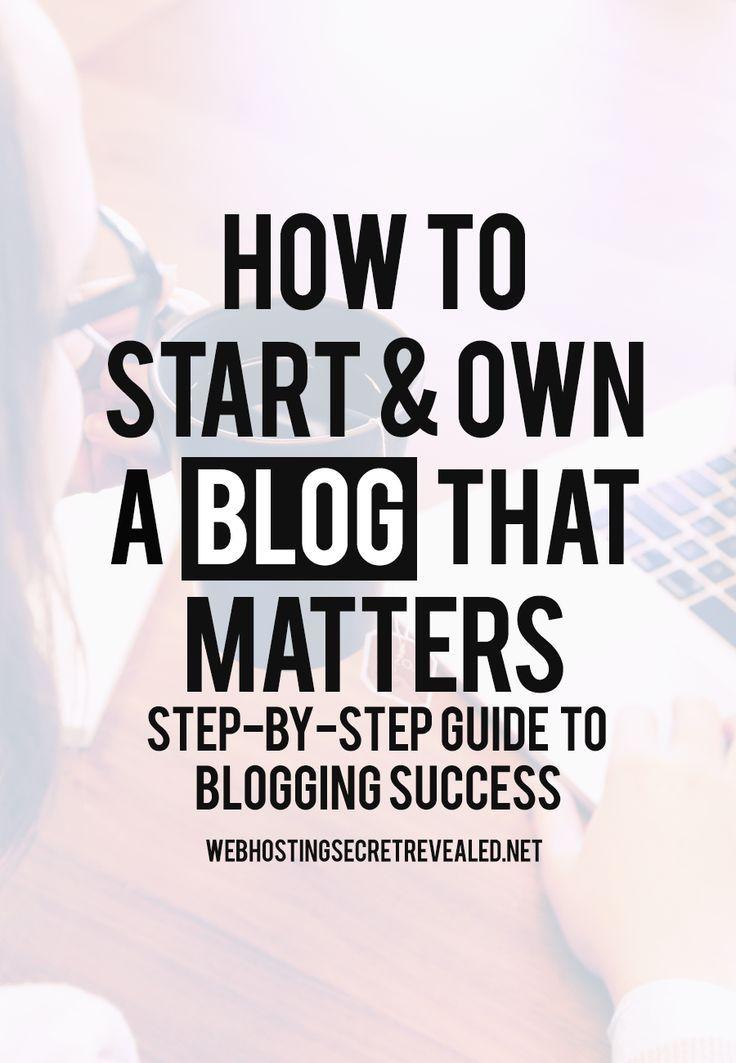michael hyatt how to start a blog