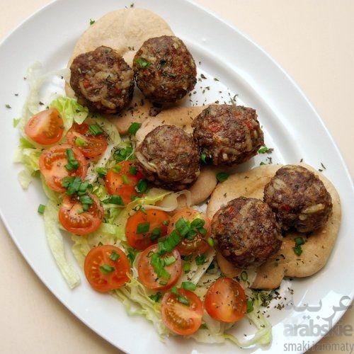 >PRZEPIS< Kofta aromatyczna na chlebkach pita ARABSKIE.PL