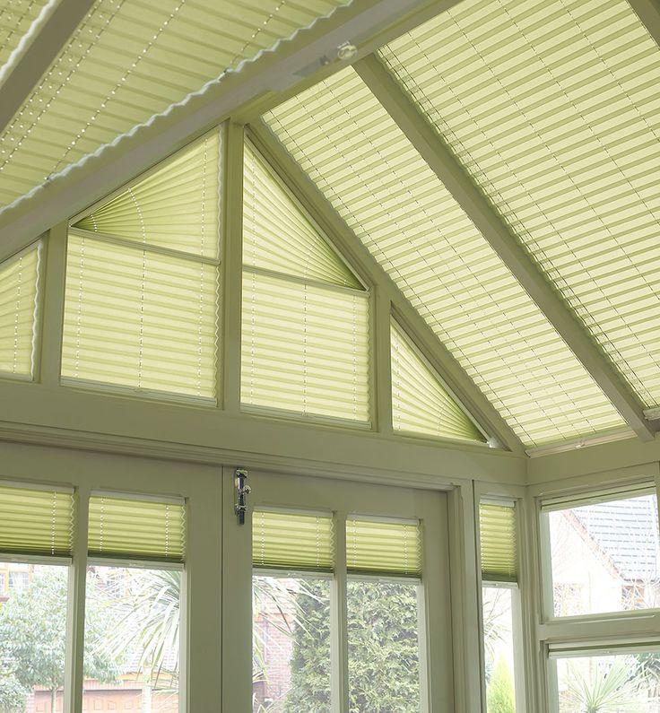 bespoke angled roof blinds