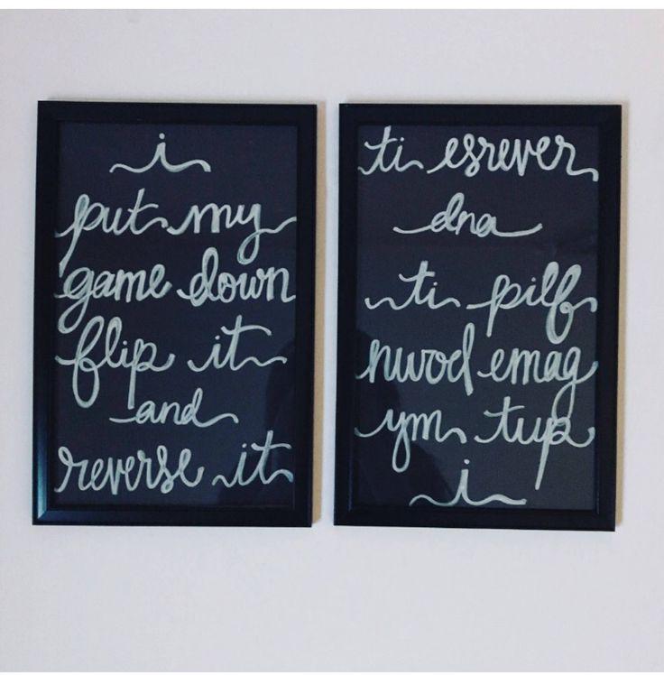 Framed Hand lettered Missy Elliot Work It Lyrics by LetterYourLove on Etsy https://www.etsy.com/listing/532126878/framed-hand-lettered-missy-elliot-work