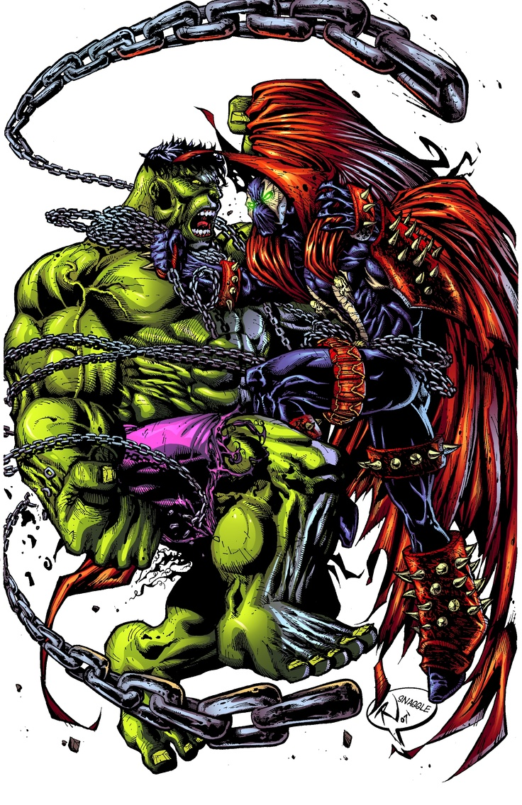 hulk vs spawn