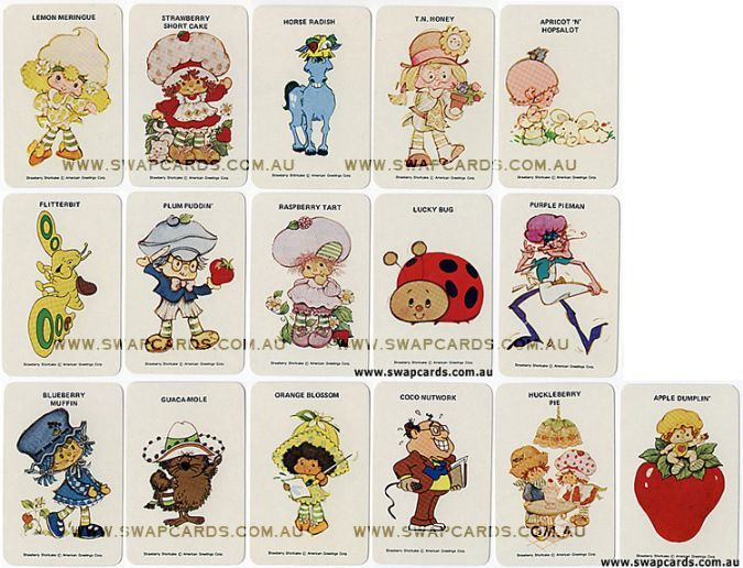 List of Strawberry Shortcake Characters | Strawberry ...