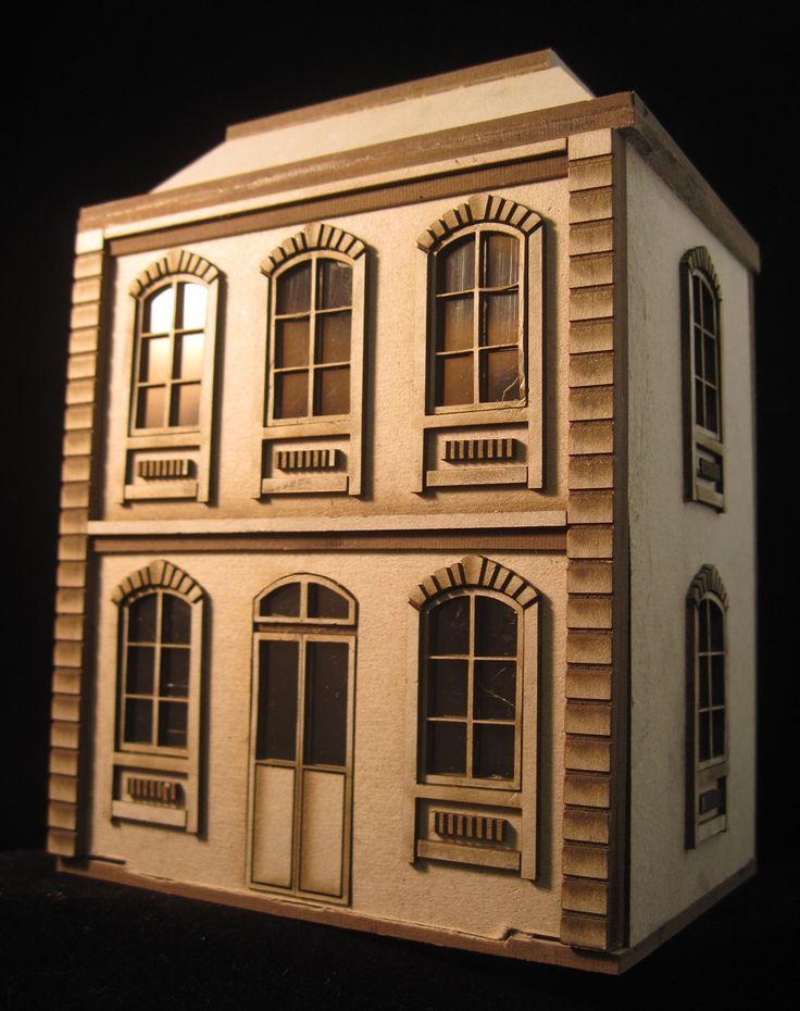 1:48 Dollshouse. DIY kit made by Laserville. www.melissasminiw...
