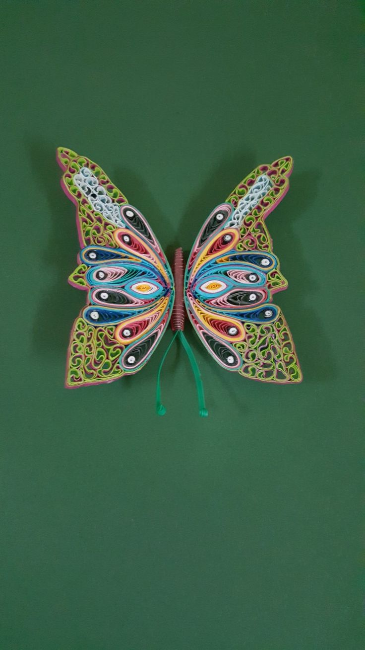 265 best quilled butterflys images on pinterest filigree
