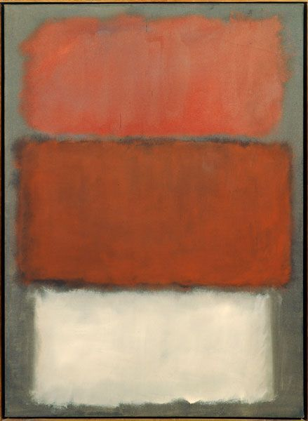 Mark Rothko, Untitled, 1960; oil on canvas; 69 in. x 50 1/8 in. (175.26 cm x 127.33 cm); Collection SFMOMA