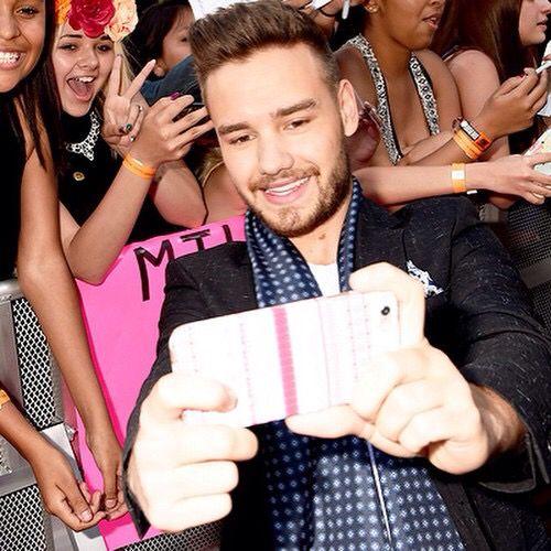 Liam at the 2015 BBMAs