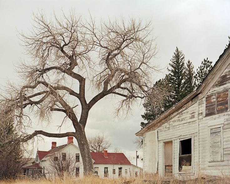 The abandoned Swan Land and Cattle Company headquarters in Chugwater, Wyoming. Established in 1873, it was one of the largest ranching outfits in the American west, at one time running 113,000 head of cattle on more than a million acres of land.