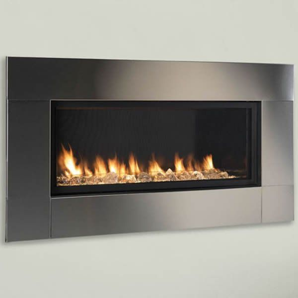 Monessen Artisan Ventless Fireplace 42 Linear Fireplace
