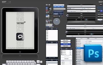 iPad UI - PSD