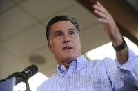 13. Sept. 21-Romney plans Pueblo rally Monday after Jefferson County on Sunday;    Republican presidential candidate Mitt Romney speaks to supporters during a rally at Jefferson County Fairgrounds on Thursday, Aug., 02, 2012. (THE DENVER POST file | Heather Rousseau)