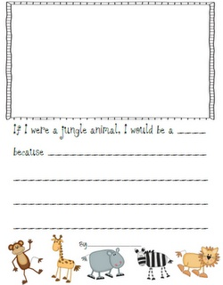 Kindergarten Stars!: If I Were a Jungle Animal!