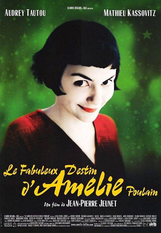 """""""Le fabuleux destin d'Amelie Poulain"""", romantic comedy by Jean-Pierre Jeunet (France, 2001)"""