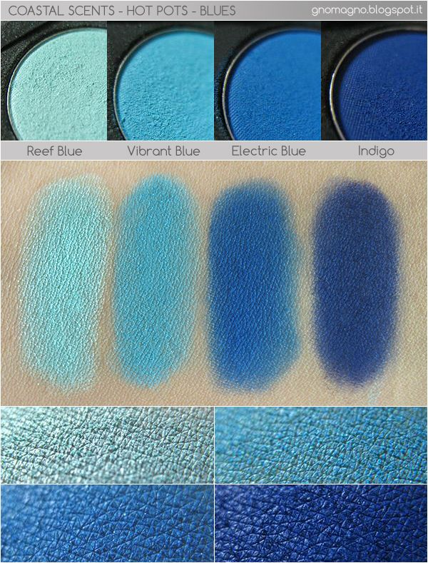 Coastal Scents - Hot Pots in blue http://gnomagno.blogspot.it/2013/09/coastal-scents-hot-pots-in-blues.html