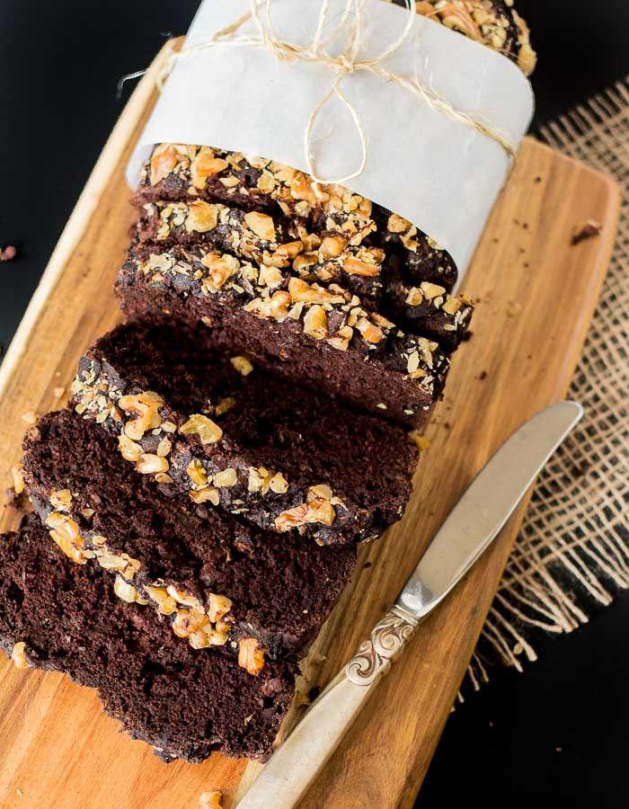 Dark Chocolate Zucchini Bread - Vegan + Gluten-free | Oh yumm, another GF recipe using teff flour. I must make this! glutenfreeveganpantry.com