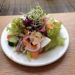 ウカフェ - 料理写真:ミニサラダ 100円